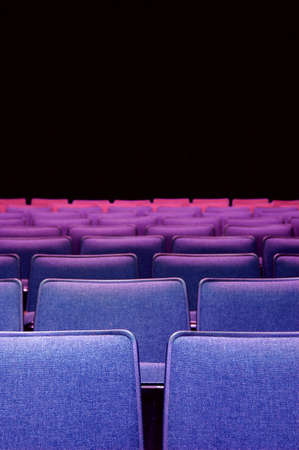 In the theater - theater seats