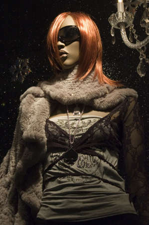 manequin: Mannequin dressed with hip clothing