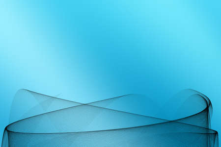 res: Blue Abstract Background - high res background with grid shape Stock Photo