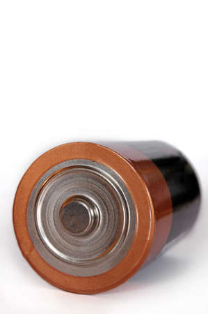 Battery - close up of a D battery with shallow depth of field Stock Photo - 1005935