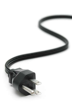 Power Plug - close up op netsnoer