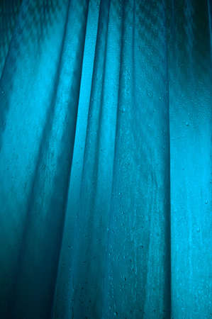 back lighting: Wet textured surface with blue back lighting
