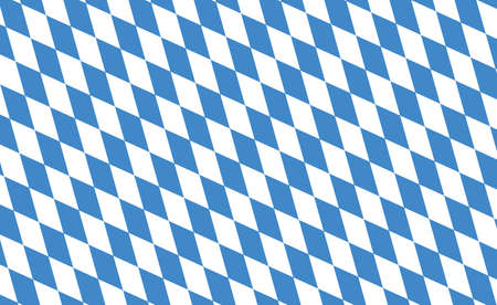State flag of Bavaria in Germany