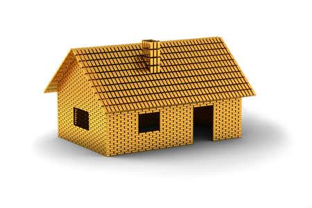 Casa famiglia realizzato in oro bar