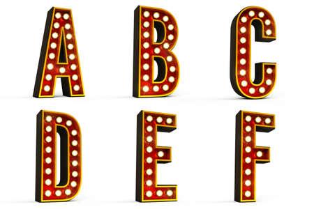 Alphabet Set - Part 1  Stock Photo - 12798430