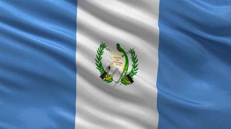 guatemala: Flag of Guatemala waving in the wind