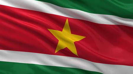 suriname: Vlag van Suriname