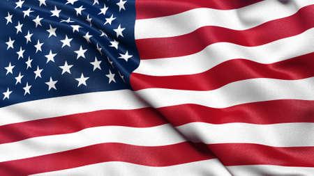 bandera estados unidos: Bandera de los Estados Unidos de América Foto de archivo