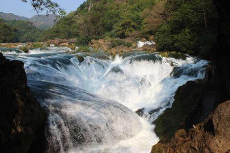 rushing water: Rushing water Stock Photo