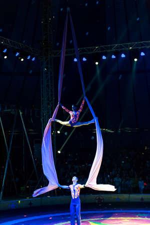 acrobatics: acrobacias Rusia en el circo