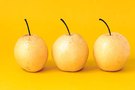 solid color: Solid color background shot PEAR