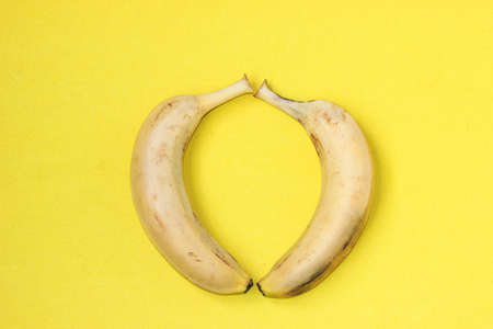 solid color: Solid color background banana