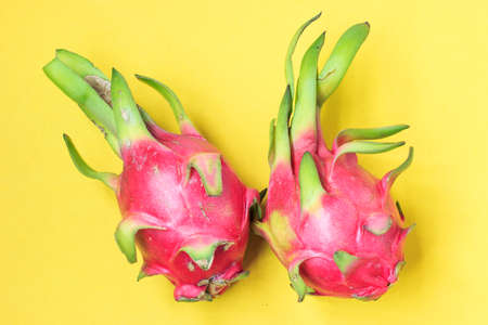 solid color: Solid color background of Dragon fruit Stock Photo