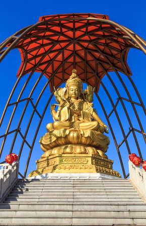 stupa one: Buddha statues