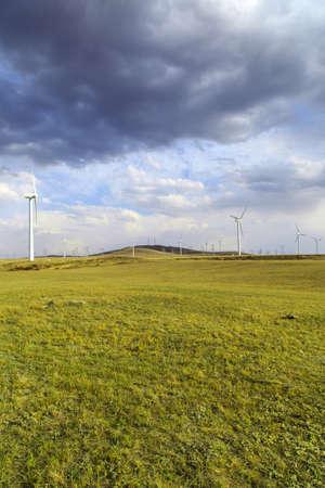 Windmill on the grassland