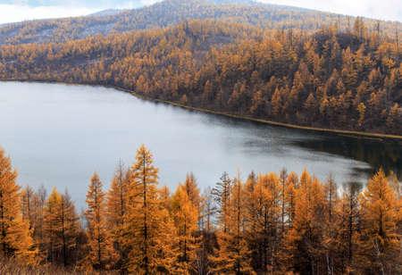 Autumn scenery in Arxan, Inner Mongolia
