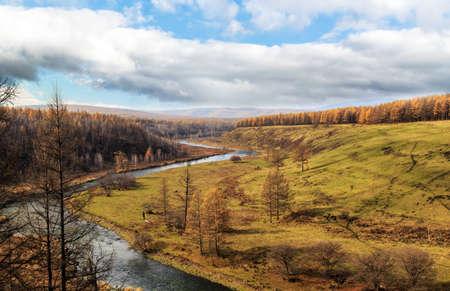 immobile: Arxan Inner Mongolia scenery