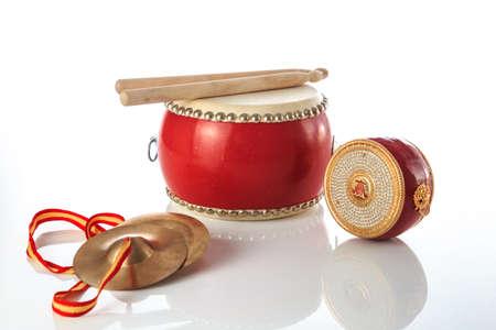 Folk instruments with Chinese characteristics Foto de archivo