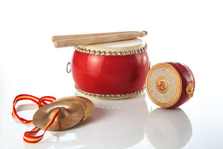 Volksinstrumente mit chinesischen Merkmalen