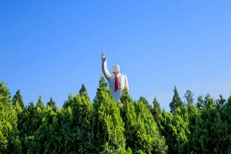 Statue of Mao Zedong 에디토리얼