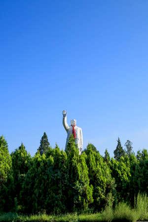Statue of Mao Zedong Editorial