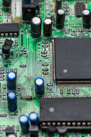 Circuit board in electronics