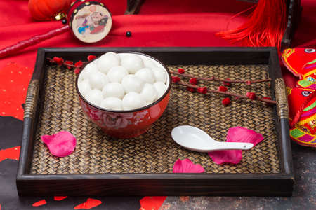 Tangyuan is a traditional Chinese cuisine