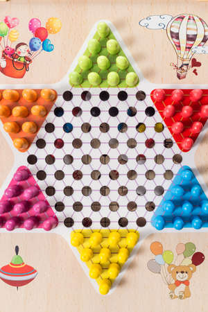 Childrens puzzle board game Stock Photo
