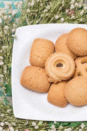 Delicious biscuits Imagens