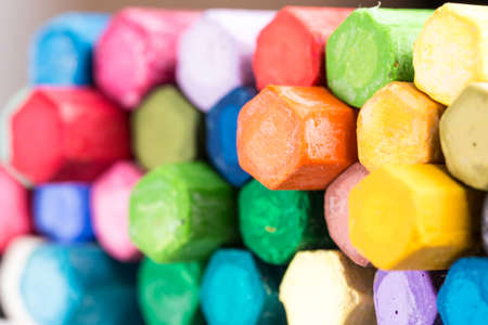 Crayons for children's painting