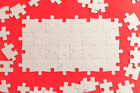 Many puzzles make up a complete pattern