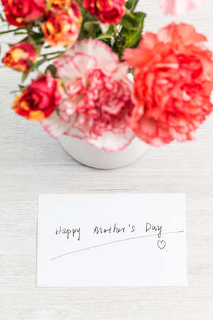 The carnation is a symbol of love for your mother