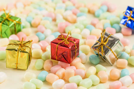 Colorful candy and exquisite gifts