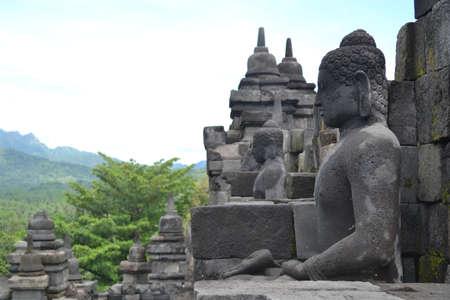 enlightment: Statue of Borobudur