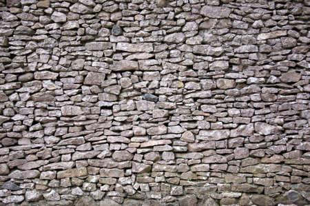 stoneworks: Large dry stone wall