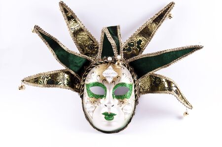venecian: Venecian traditional mask Stock Photo