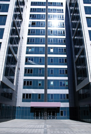 Suny finance building Stock Photo - 13504880