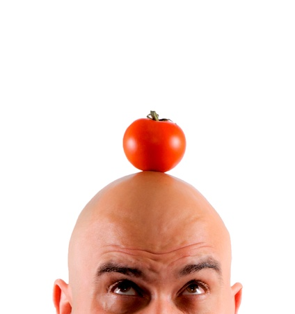 scared tomatoes Stock Photo - 13505108