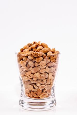 peanuts in a glass photo