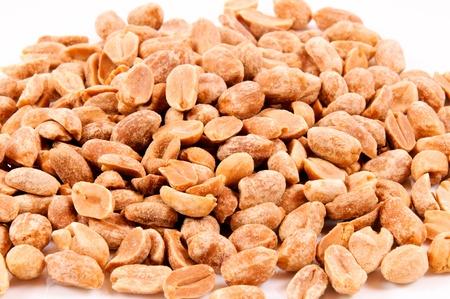 Roasted Peanuts close up  photo