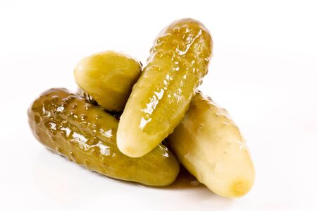 Pickles isolated