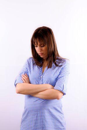 Worried woman Stock Photo - 13699396