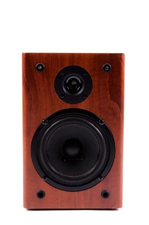 Speaker isolated on white background Stock Photo - 13870262