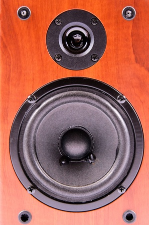 Wooden speaker  Stock Photo - 13880856