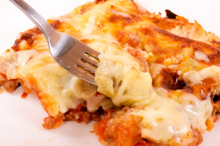 chees: Chees pie on the plate Stock Photo