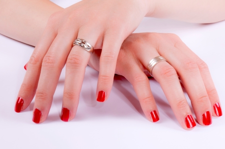 Femail nails from both hand Stock Photo - 14159716