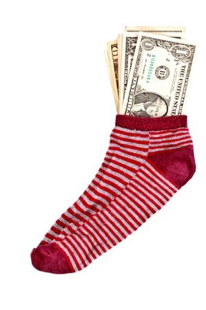 avidity: Money in the sock