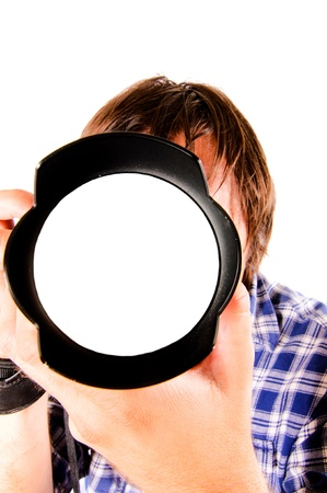 Blank lens to put your photography Stock Photo - 14477375
