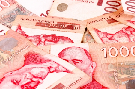 1000 Serbian dinars photo