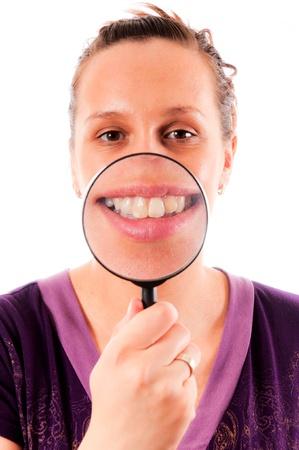 Women giving the big smile Stock Photo - 14658043
